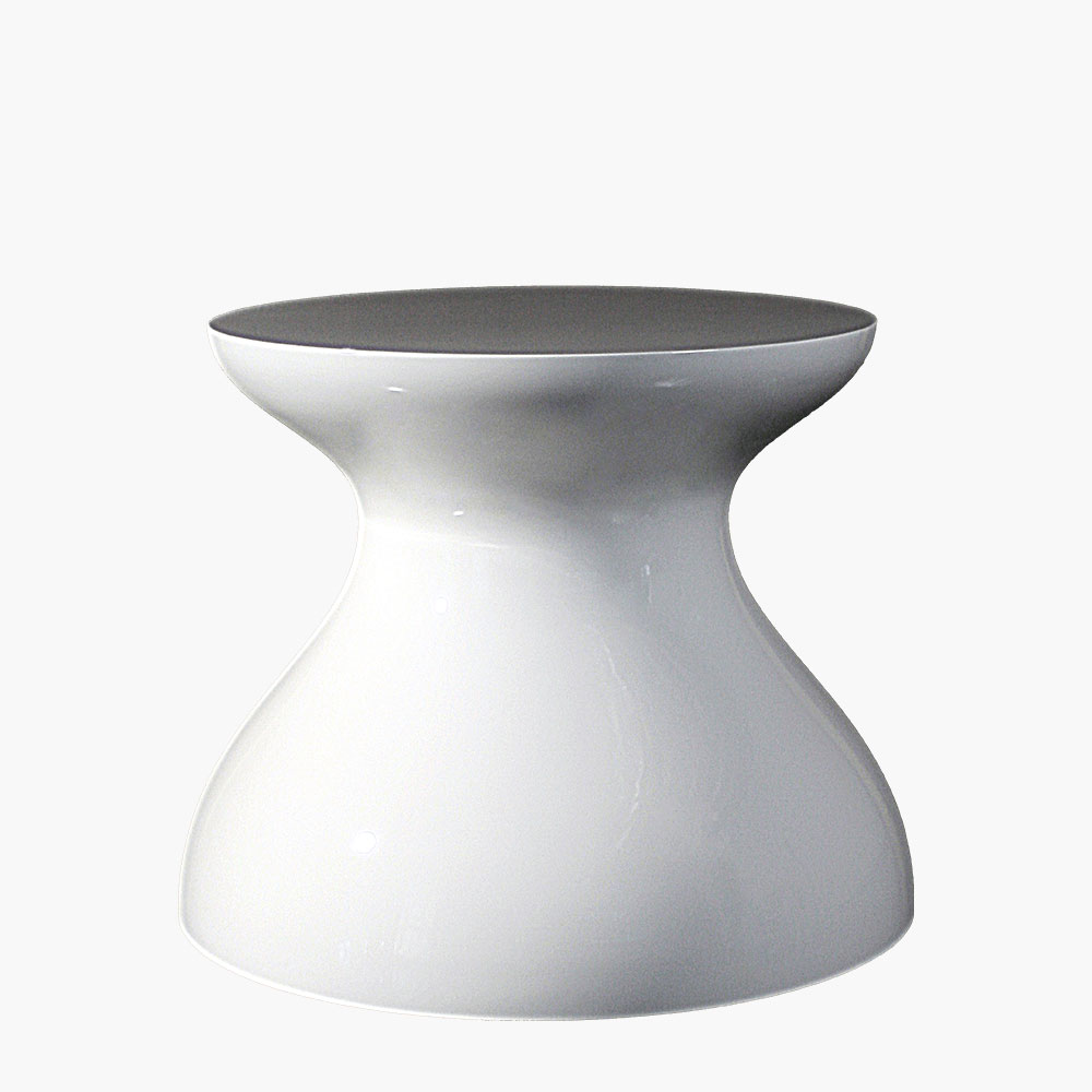 Bottle Shaped Modern Cocktail Table Base.