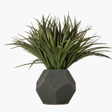 Dodeca Table Top Planter with Grass