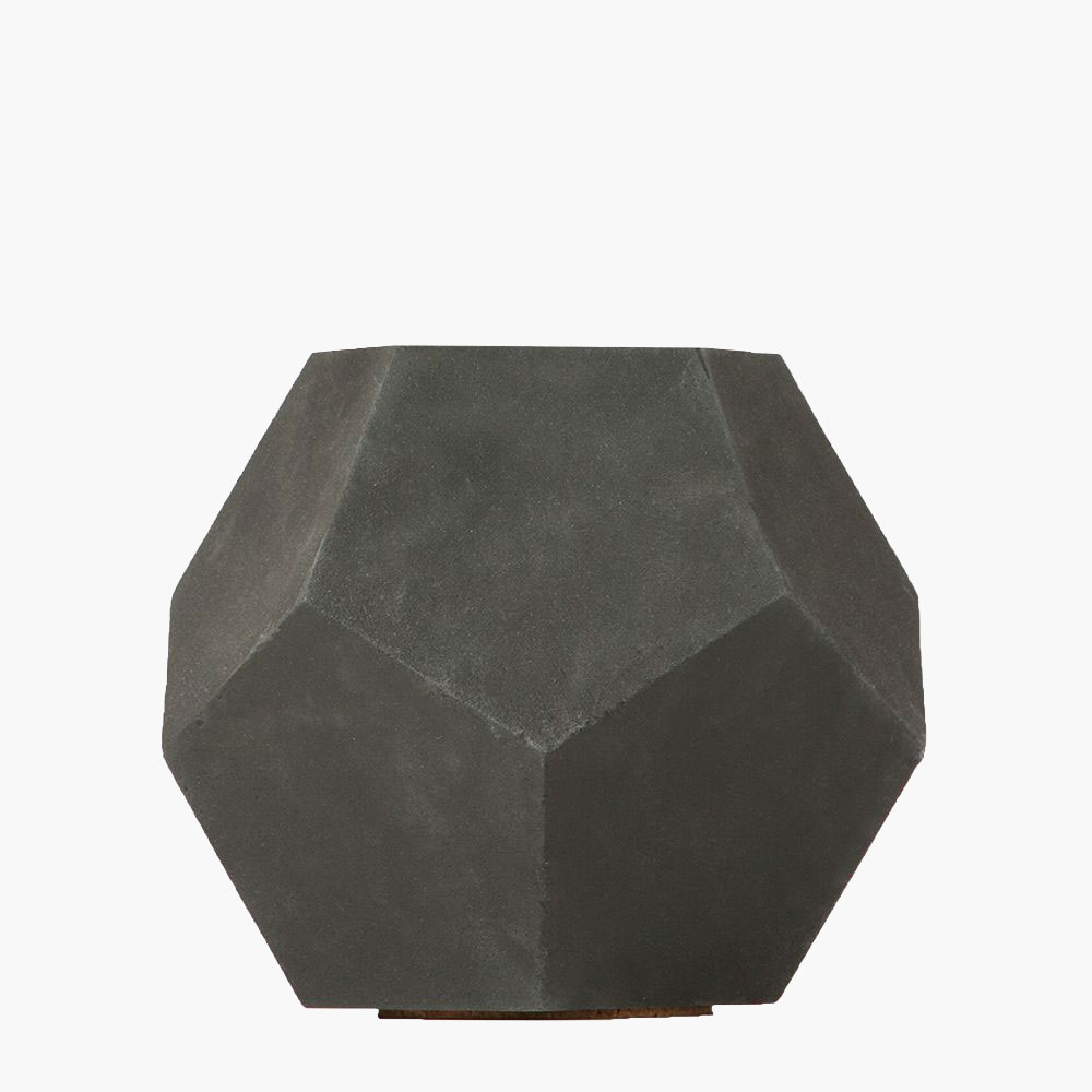 Dodeca Concrete Table Top Planter