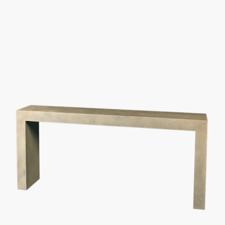 Parsons Console Table For Foyers And Entryways Stone