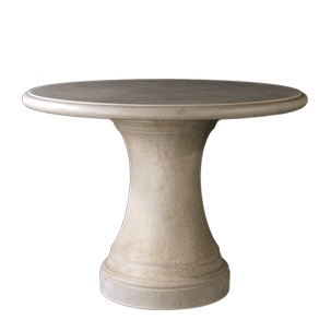 Classically Styled Fairbanks Round Outdoor Table Base