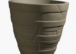 Large Commercial Concrete Planters