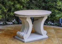 Toledo Grande Base and Table Top - Outdoor