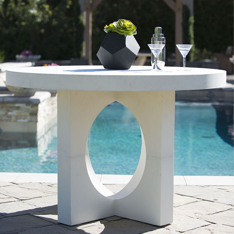 Outdoor Concrete Table Base for Patios Stone Yard Inc : Orbis Base Round Table RSF 294 1 from www.stoneyardinc.com size 800 x 800 jpeg 69kB