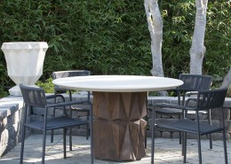 Modern Industrial Concrete Table Base