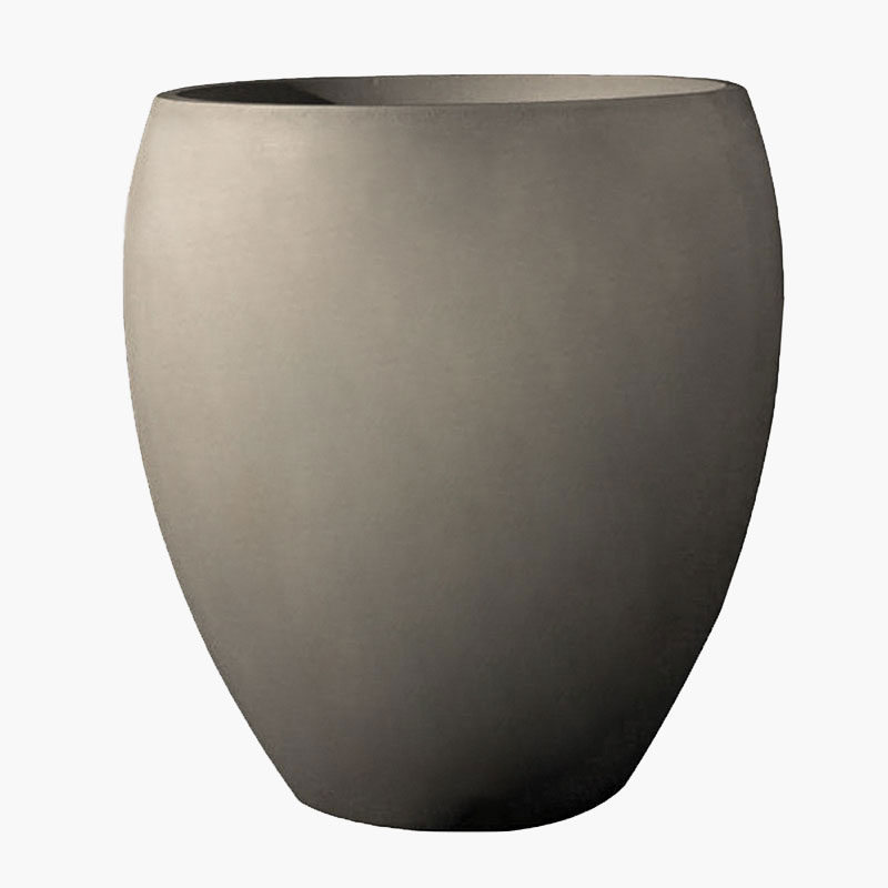 Aurelius Contemporary Round Planter in Stone