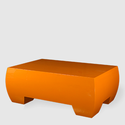 Nectarine Syglos Ovoid Cocktail Table