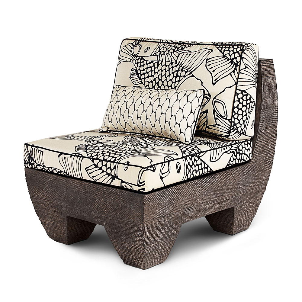 Zaragoza Slipper Chair