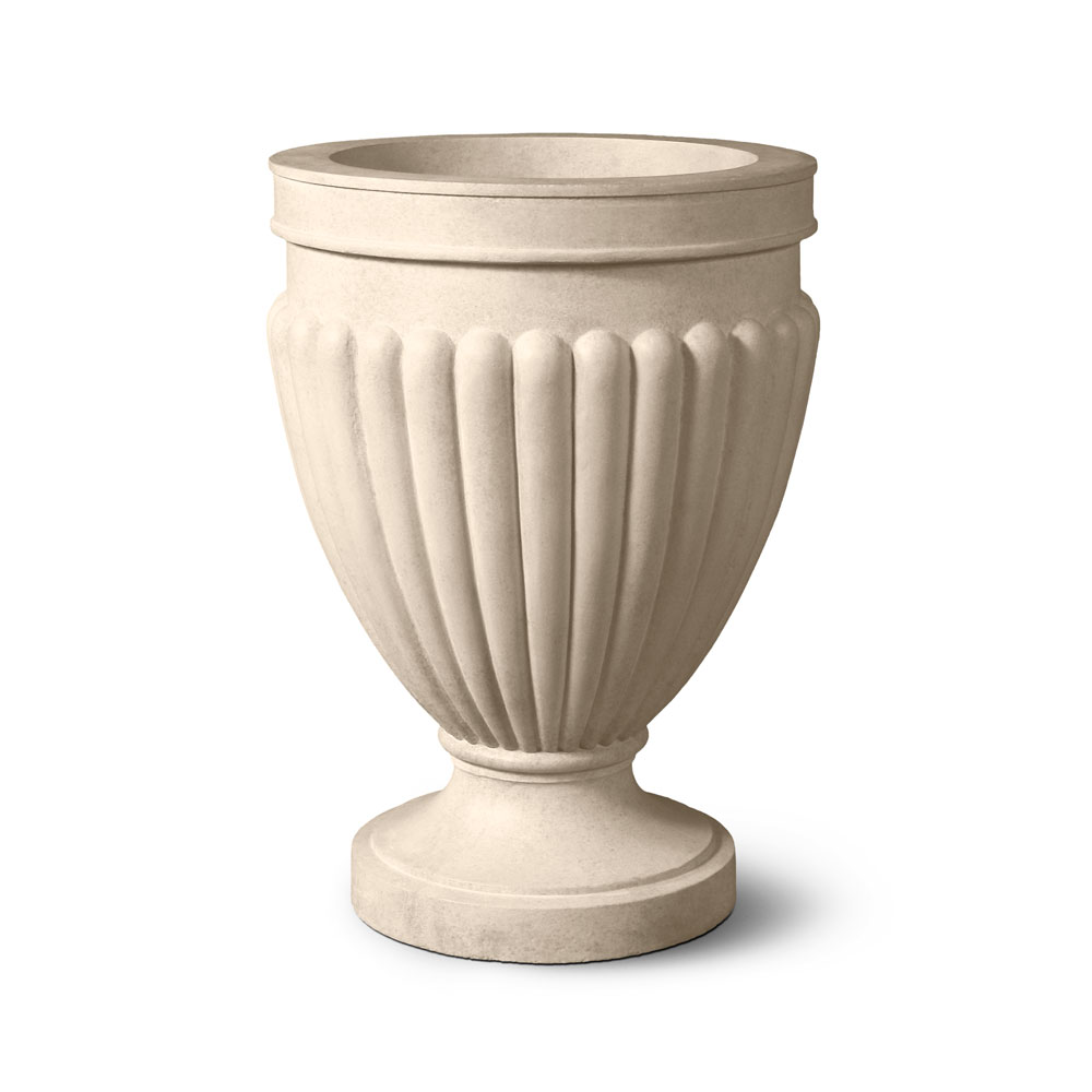Ina Greek and Roman GFRC Garden Urns