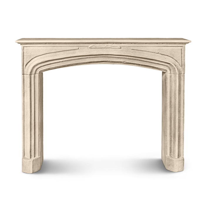 Louis XIII Arched Mantel
