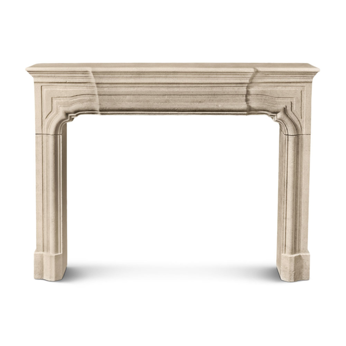Louis XIV Step Arch Mantel