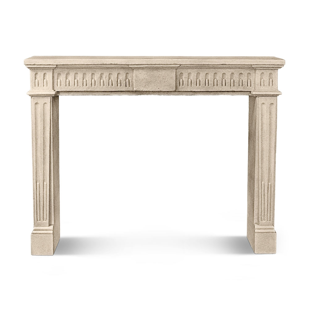 Louis XVI Fluted Mantel