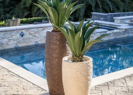 Roman Pond Planters Pool Accents