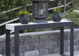 Outdoor Concrete Hall Table