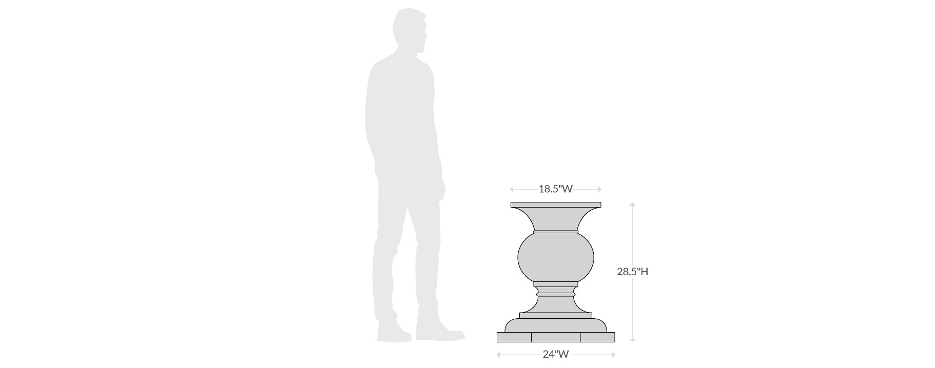 Balustrade Base Scale Chart-1